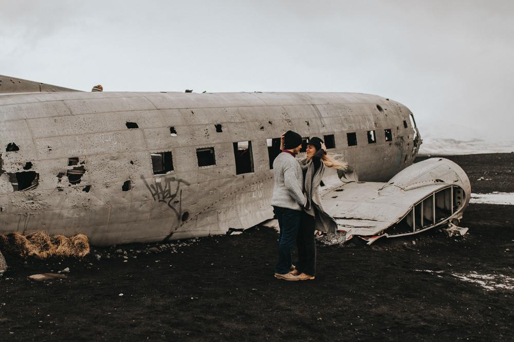 sesja-na-islandii-wrak-samolotu